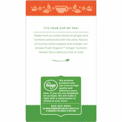 Simple Truth Organic™ Ginger Turmeric Herbal Tea Perspective: left
