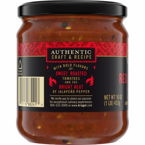 Private Selection® Hot Red Jalapeno Salsa Perspective: left