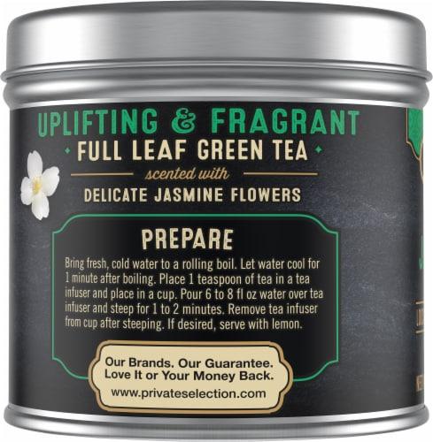 Private Selection® Jasmine Green Loose Leaf Tea Perspective: left