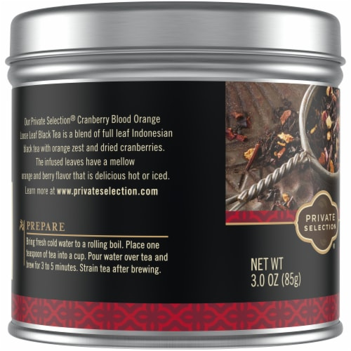 Private Selection™ Cranberry Blood Orange Loose Leaf Tea Perspective: left