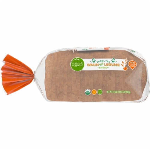 Simple Truth Organic® Sprouted Grain and Legume Bread Perspective: left