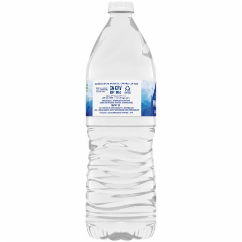 Kroger® Purified Drinking Water Perspective: left