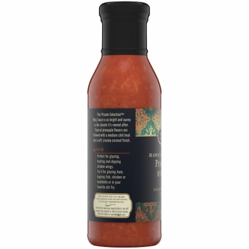 Private Selection™ Hawaiian Pineapple Wing Sauce Perspective: left