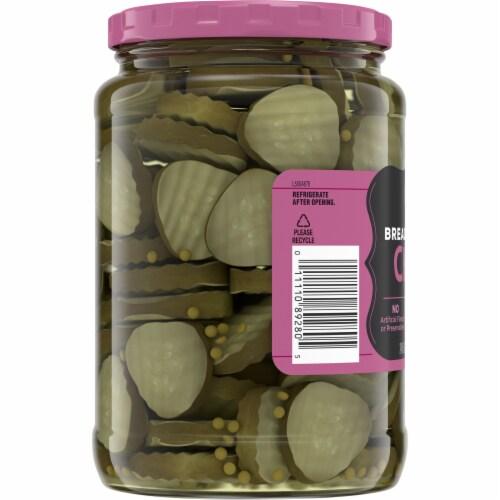 Kroger® Bread & Butter Pickle Chips Perspective: left