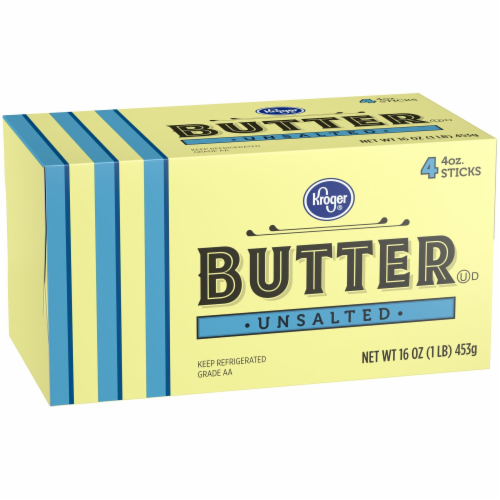 Kroger® Unsalted Butter Sticks Perspective: left
