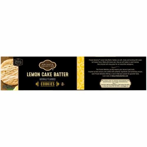 Private Selection® Lemon Cake Batter Cookies Perspective: left