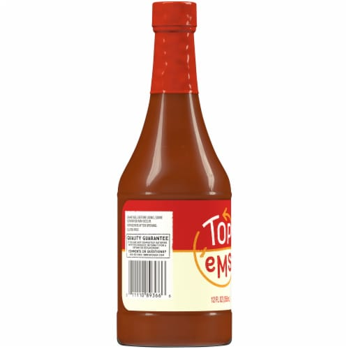 Top 'Ems Hot Sauce Perspective: left