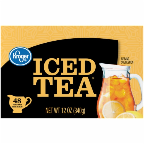 Kroger® Iced Tea Bags Perspective: left