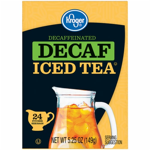 Kroger® Decaf Iced Tea Bags Perspective: left