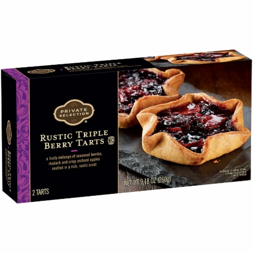 Private Selection® Rustic Triple Berry Tarts Perspective: left