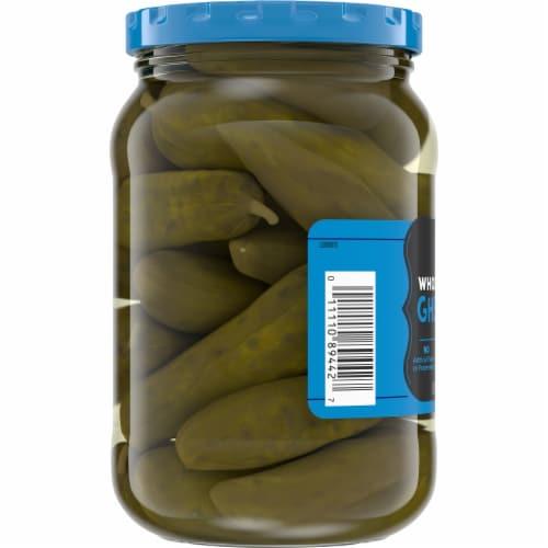 Kroger® Whole Sweet Gherkins Pickles Perspective: left