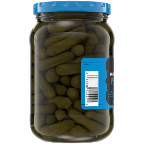 Kroger® Whole Sweet Petite Pickles Perspective: left