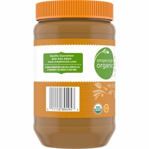 Simple Truth Organic® No Stir Creamy Peanut Butter Spread Perspective: left