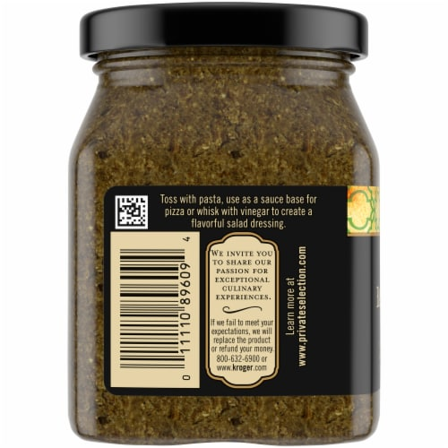 Private Selection® Basil Pesto Perspective: left