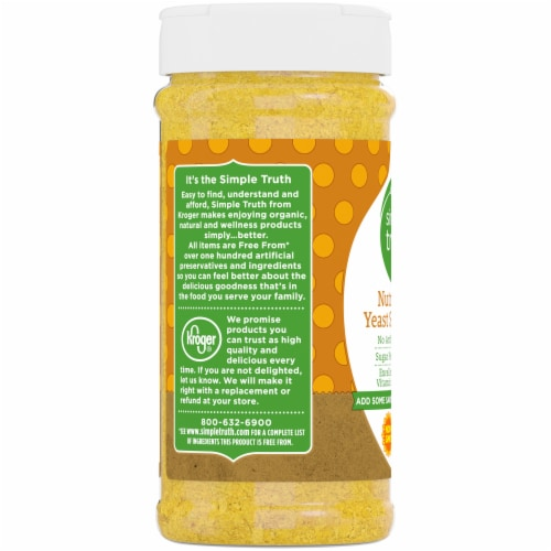 Simple Truth™ Nutritional Yeast Seasoning Perspective: left