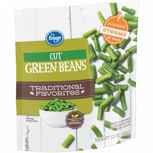 Kroger® Traditional Favorites Cut Green Beans Perspective: left