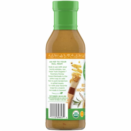 Simple Truth Organic™ Rosemary Honey Mustard Marinade Perspective: left