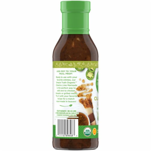 Simple Truth Organic™ Cilantro Lime Marinade Perspective: left