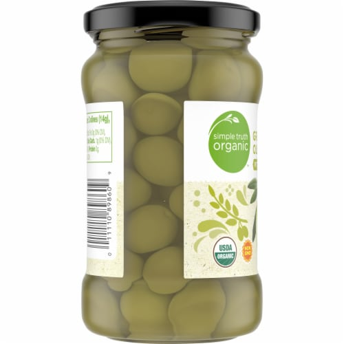 Simple Truth Organic™ Pitted Green Olives Perspective: left