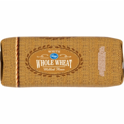 Kroger® White Whole Wheat Milled Flour Perspective: left