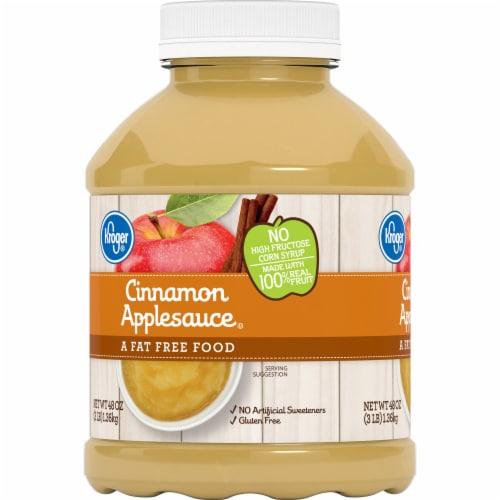 Kroger® Cinnamon Applesauce Perspective: left