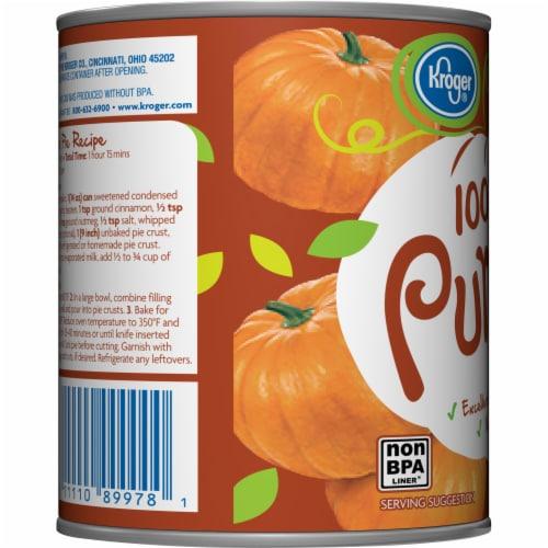 Kroger® 100% Pure Canned Pumpkin Perspective: left