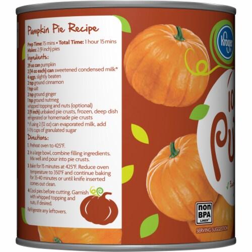 Kroger® 100% Pure Pumpkin Perspective: left