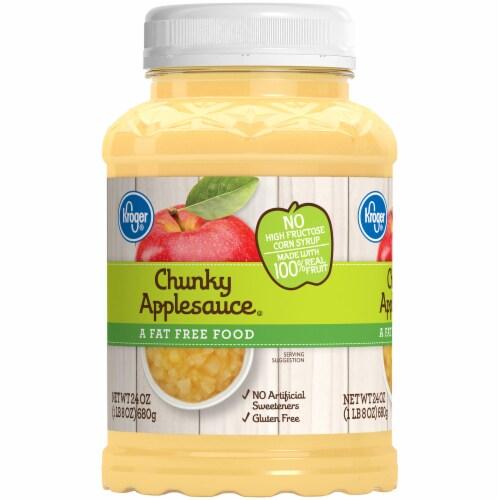 Kroger® Chunky Applesauce Perspective: left