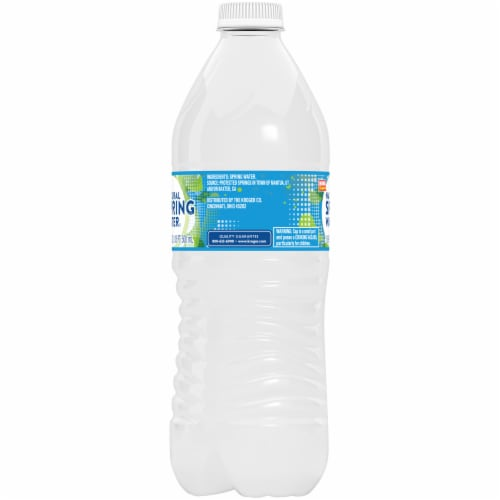 King Soopers™ Natural Spring Water Perspective: left