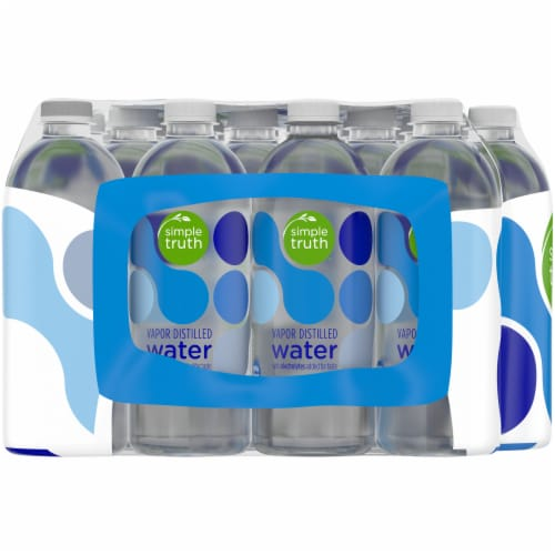 Simple Truth™ Vapor Distilled Water with Electrolytes Perspective: left