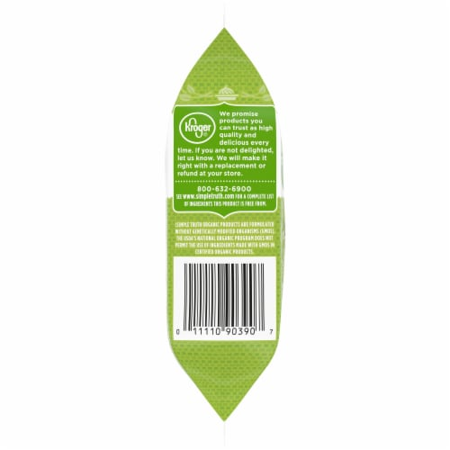 Simple Truth Organic® Wasabi Roasted Seaweed Snack Perspective: left