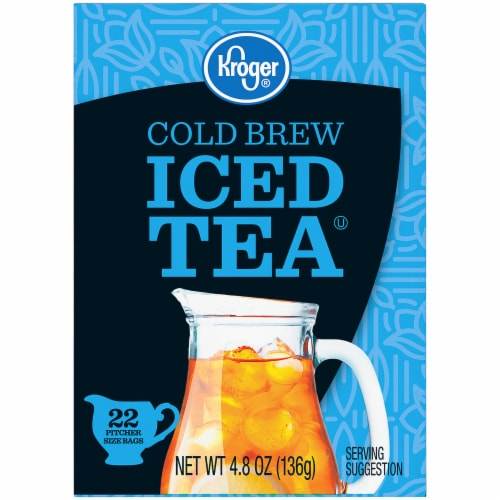 Kroger® Cold Brew Iced Tea Bags 22 Count Perspective: left