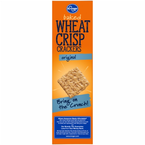 Kroger® Original Baked Wheat Crisp Crackers Perspective: left