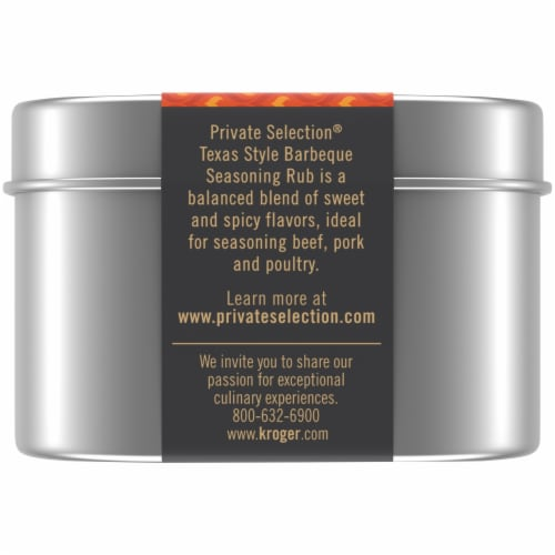 Private Selection® Texas Barbecue Seasoning Rub Perspective: left