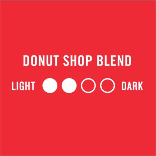 Kroger® Donut Shop Blend Medium Roast Coffee K-Cup® Pods Perspective: left