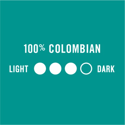 Kroger® Medium Dark Roast Colombian Coffee K-Cup Pods Perspective: left