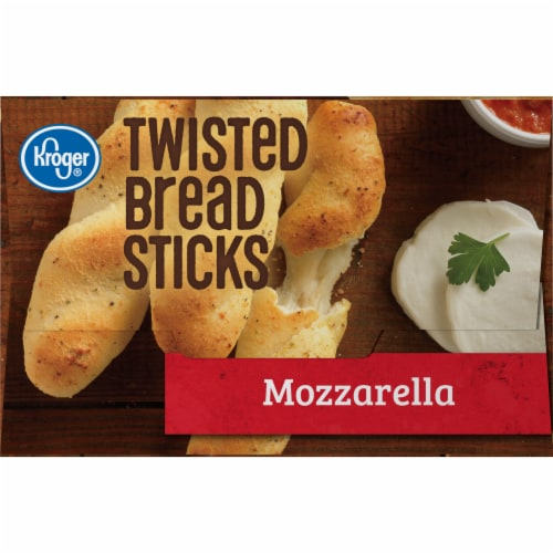 Kroger® Mozzarella Twisted Bread Sticks Perspective: left