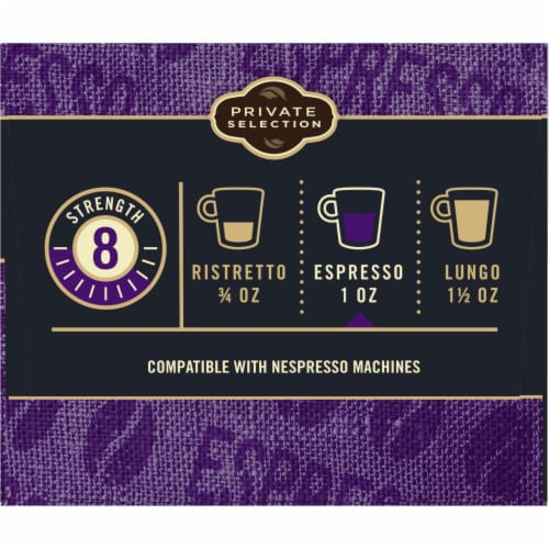 Private Selection™ Espresso Forte Capsules Perspective: left