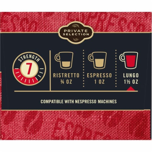 Private Selection™ Lungo Forte Espresso Capsules Perspective: left