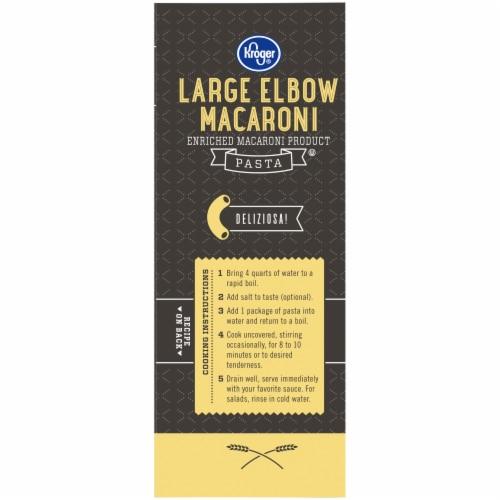 Kroger® Large Elbow Macaroni Pasta Perspective: left