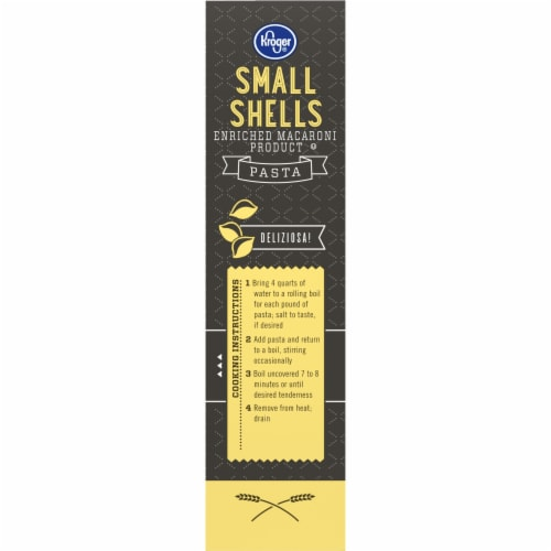 Kroger® Small Shell Macaroni Perspective: left