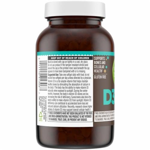 Simple Truth® Vitamin D3 Softgels 1000 IU Perspective: left