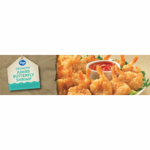 Kroger® Crunchy Jumbo Butterfly Shrimp Perspective: left