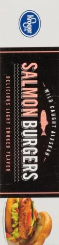 Kroger® Salmon Burgers Perspective: left