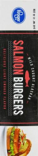 Kroger® Salmon Burger Perspective: left