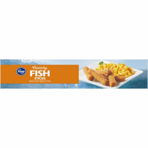 Kroger® Crunchy Fish Sticks Perspective: left