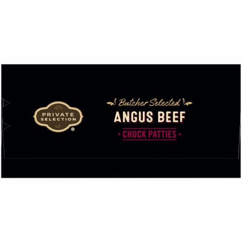 Private Selection™ Angus Beef Chuck Patties 6 Count Perspective: left