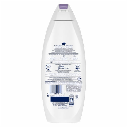 Dove Relaxing Lavender Body Wash Perspective: left