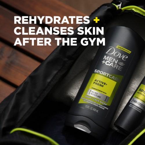 Dove Men + Care SportCare Active + Fresh Body Wash Perspective: left