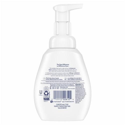 Dove Warm Vanilla and Sugar Cane Hand Wash Perspective: left